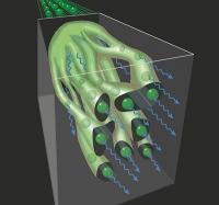 Gammastrahlungsblitze aus Plasmafäden