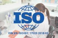Deutsche Fassung DIN EN ISO/IEC 17025:2018-03 ist da