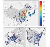 China als globaler Ozon-Brennpunkt