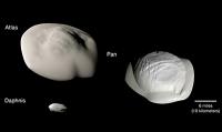 Cassini-Mission enthüllt Geheimnisse der walnussförmigen Ringmonde des Saturn