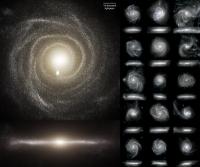 Galaktische Quellen und Karussells - Wie in unserem Universum Ordnung aus Chaos entstand