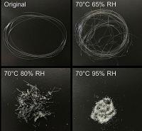 Luft, Wasser, Öl: Was PLA-Biokunststoff gut filtern kann - und was nicht