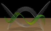 Phänomen im Video: Laufende stehende Welle erzeugt