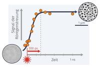 Licht verwirbelt Magnetisierung – Laserlichtpulse ermöglichen schnellere Erzeugung von Skyrmionen in Magneten