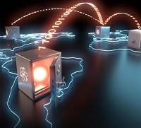 Lange Speicherung photonischer Quantenbits für globale Teleportation