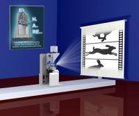 Ein atomarer Blick auf die Arbeit molekularer Maschinen