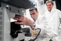 Krebsmedikament bei der Arbeit beobachtet