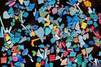 Mikroplastik in Gewässern