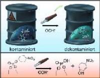 Mikromotoren als Mischer für effektiveren oxidativen Abbau chemischer Kampfstoffe