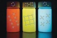 Leuchtende Nanotinten