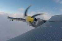 Neue Technologie zur Erkennung von Eis auf Flugzeugen