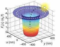 Erstmalige präzise Messung der effektiven Ladung eines einzelnen Moleküls