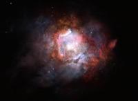 ALMA und VLT finden zu viele massereiche Sterne in Starburst-Galaxien nah und fern