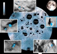 Mond: Scharfer Blick in dunkle Krater