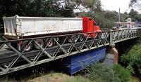 Stützkorsett für historische Stahlbrücken